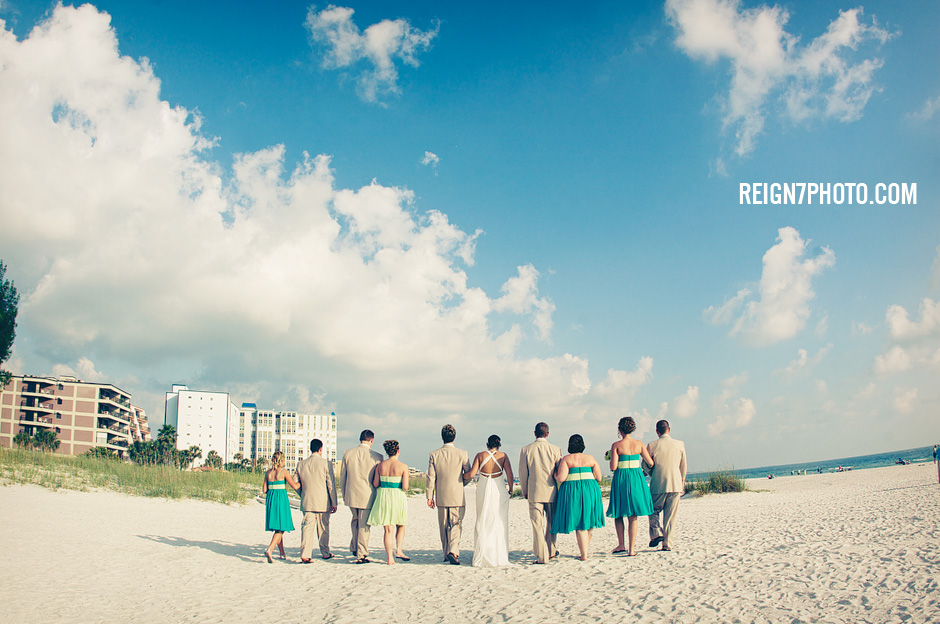 grand plaza wedding photos st. pete beach