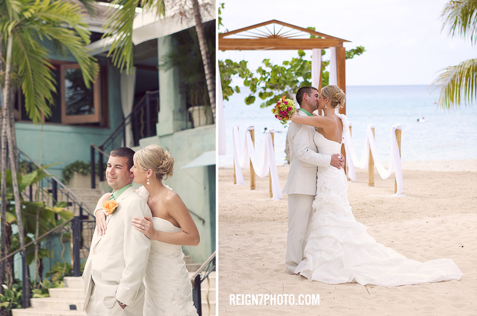 Couples Negril Wedding