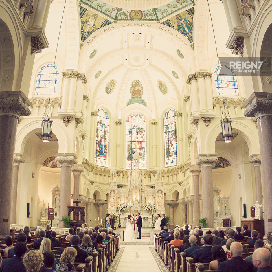 Sacred Heart & Fletcher Lounge Wedding