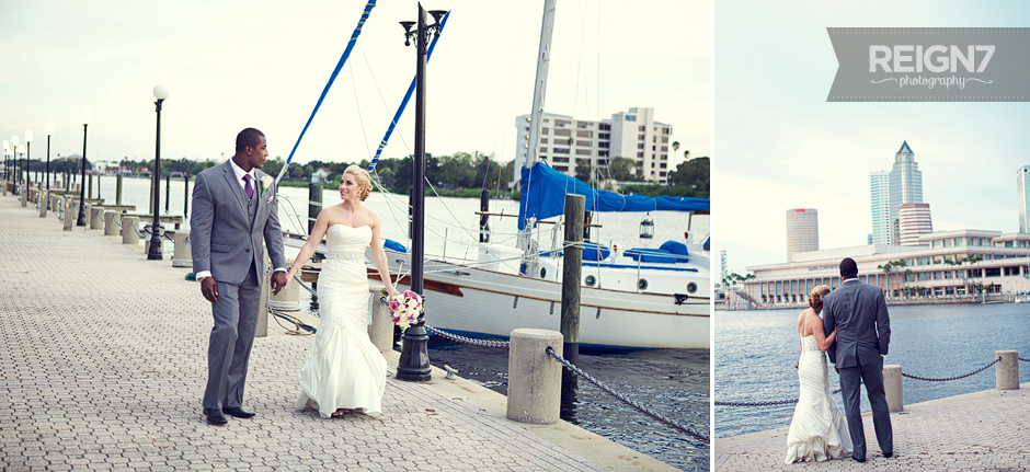 Harbour island tampa wedding
